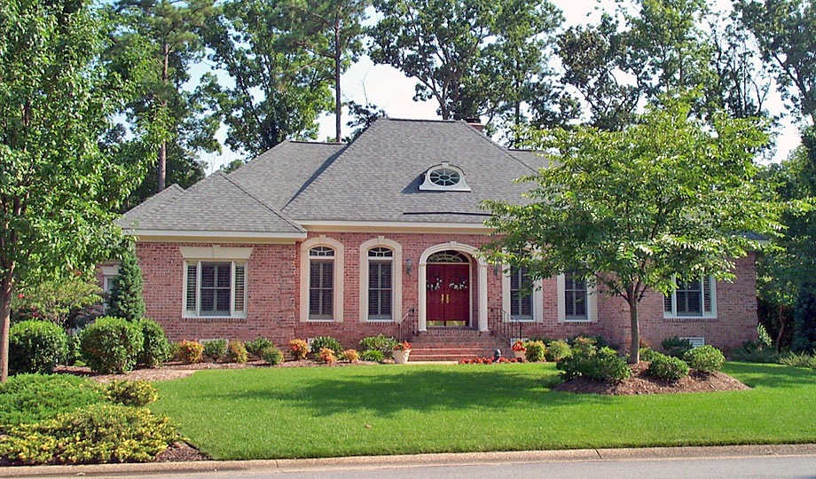 Williamsburg custom home builder gallery of 1 1 2 story for One and a half story homes