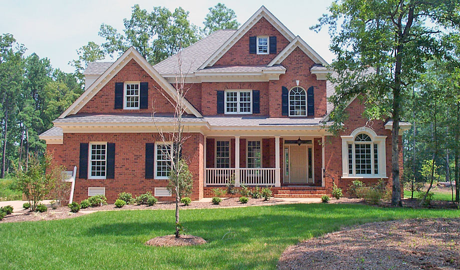Williamsburg Custom Home Builder Gallery of 2 Story Homes