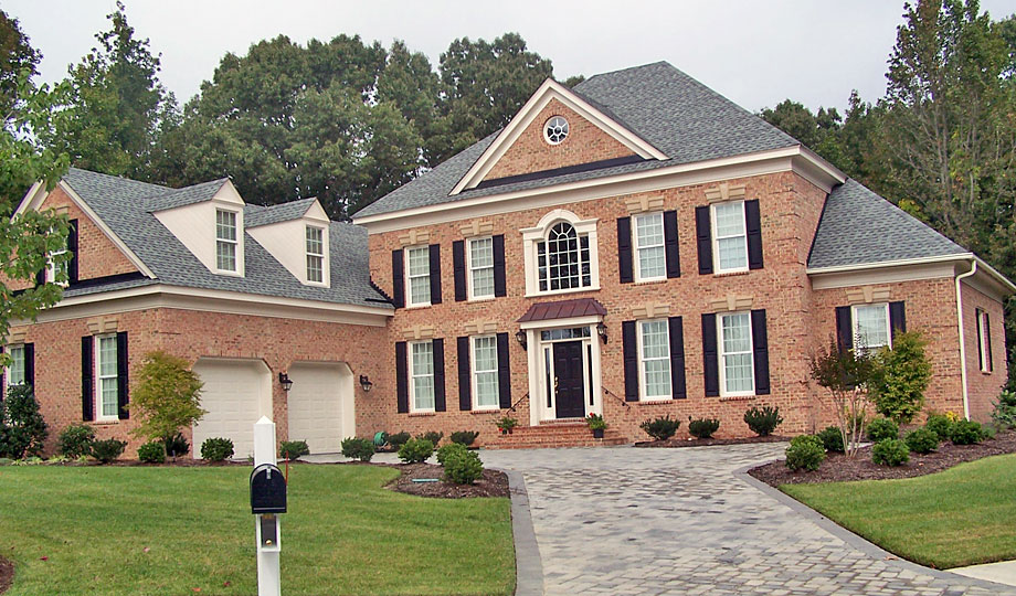 Williamsburg custom home builder gallery of 2 story homes for Big two story houses
